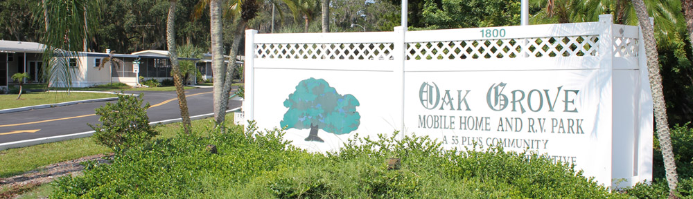 About Oak Grove   Oak Grove Mobile Home & RV Park